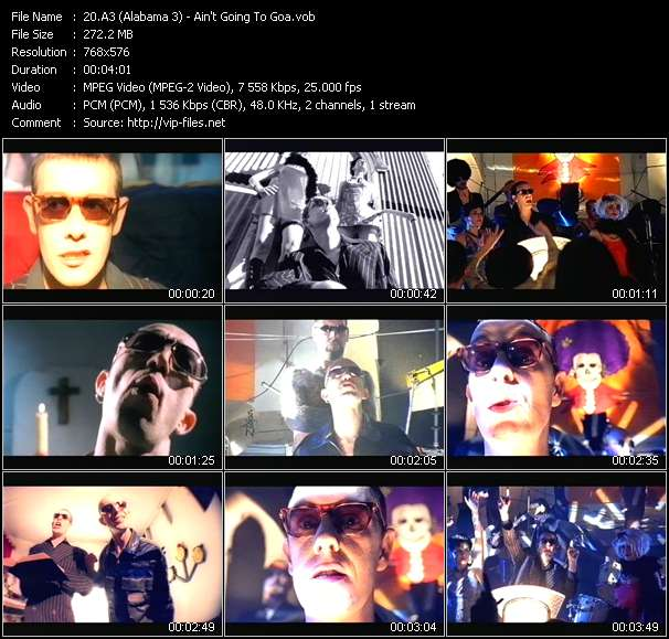 A3 (Alabama 3) video screenshot