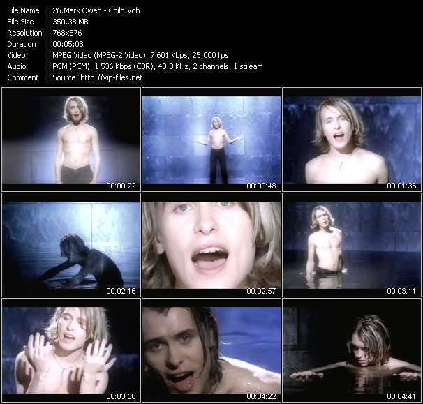 Mark Owen video screenshot