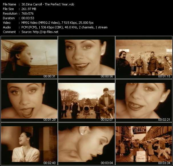 Dina Carroll video screenshot