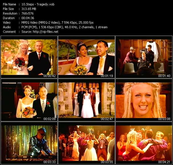 Steps video screenshot