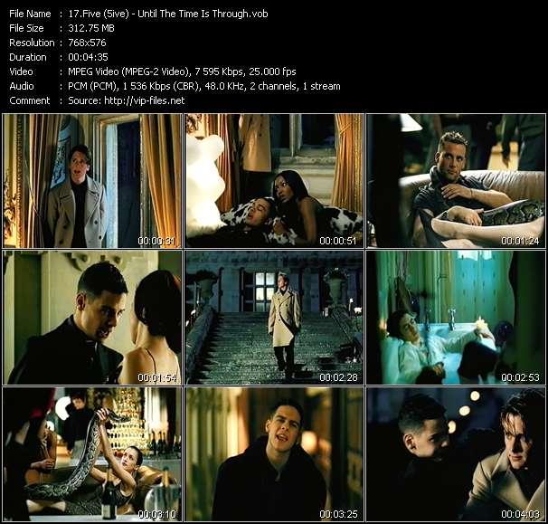 Five (5ive) video screenshot
