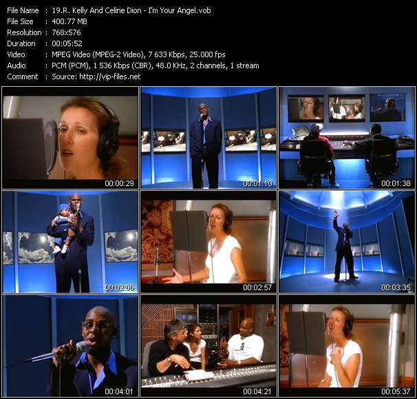 R. Kelly And Celine Dion video screenshot