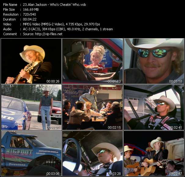 Alan Jackson video screenshot