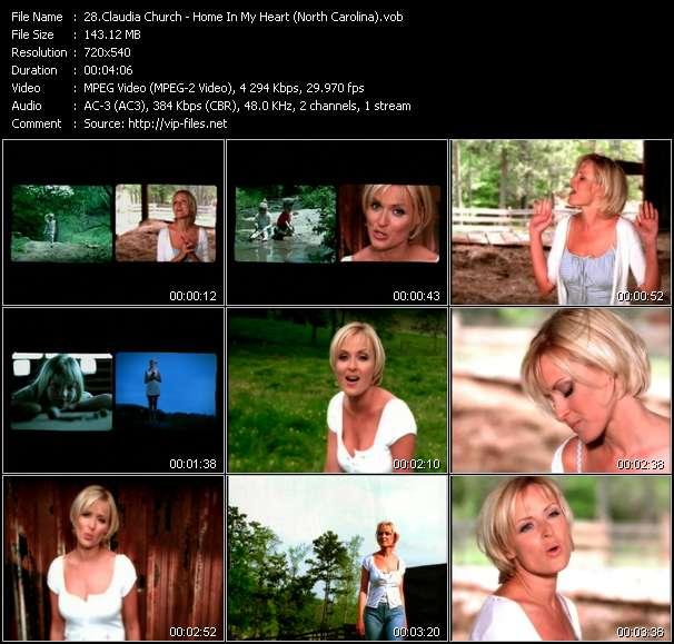 Claudia Church video screenshot