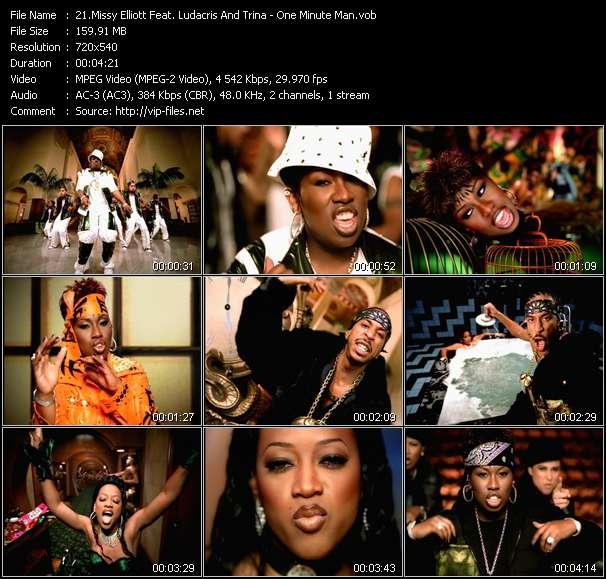 Missy Elliott Feat. Ludacris And Trina video screenshot
