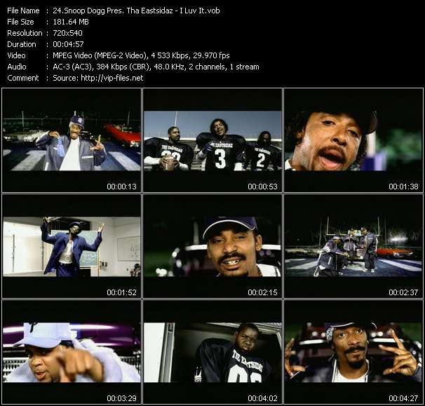 Snoop Dogg Pres. Tha Eastsidaz video screenshot