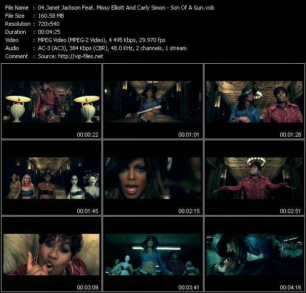 Janet Jackson Feat. Missy Elliott And Carly Simon video screenshot