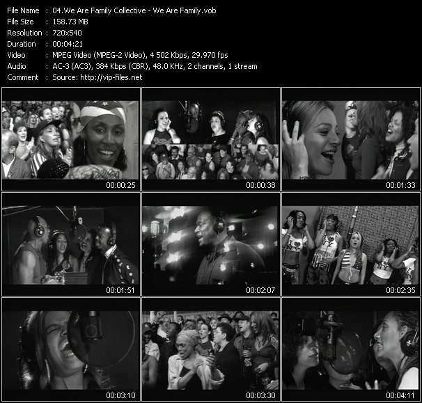 We Are Family Collective video screenshot
