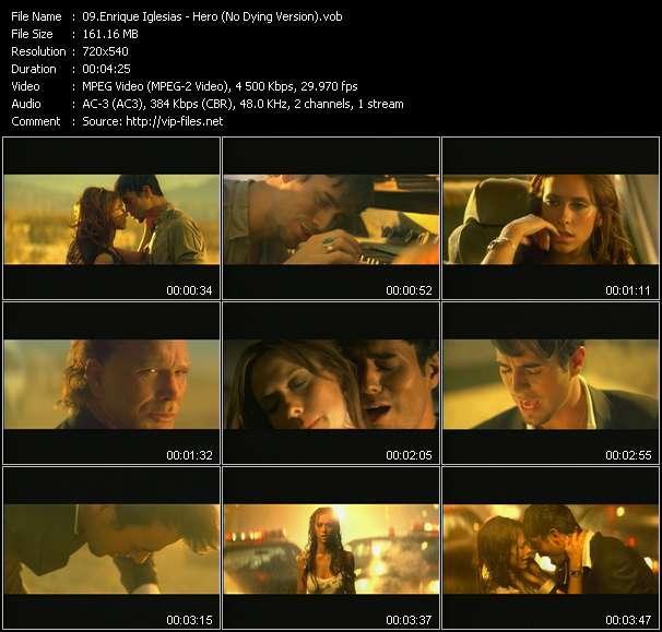 Enrique Iglesias video screenshot