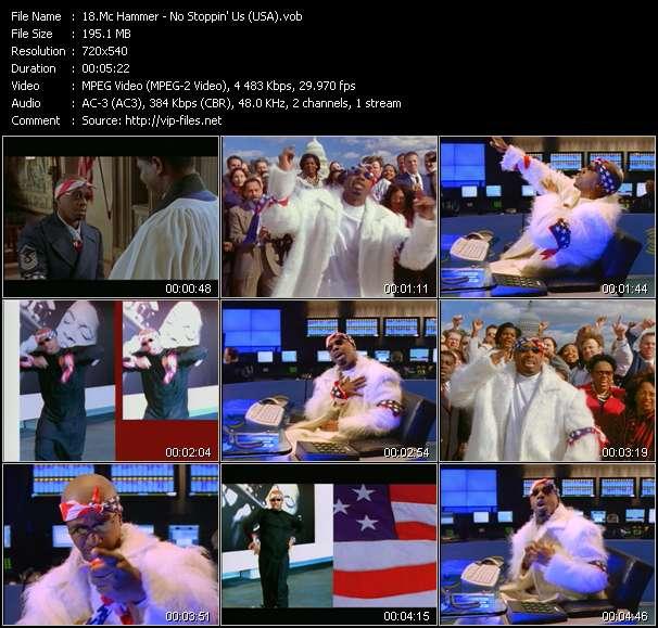 Mc Hammer video screenshot
