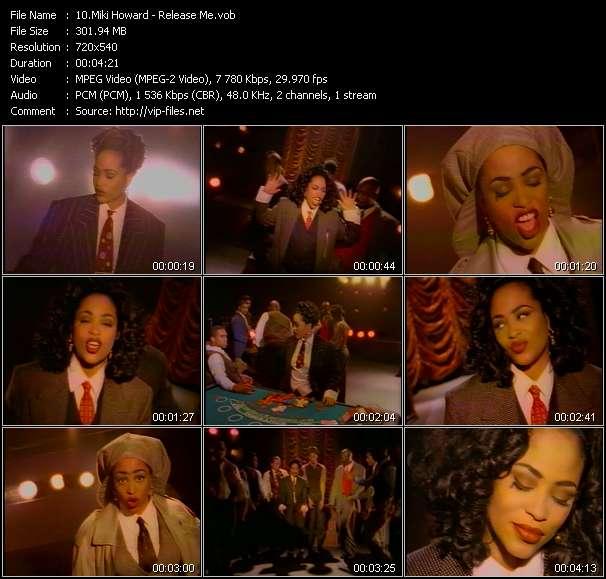 Miki Howard video screenshot
