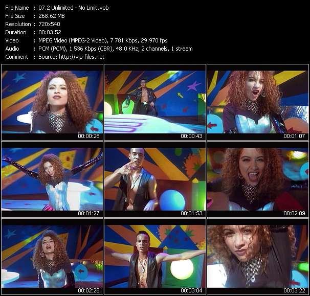 2 Unlimited video screenshot