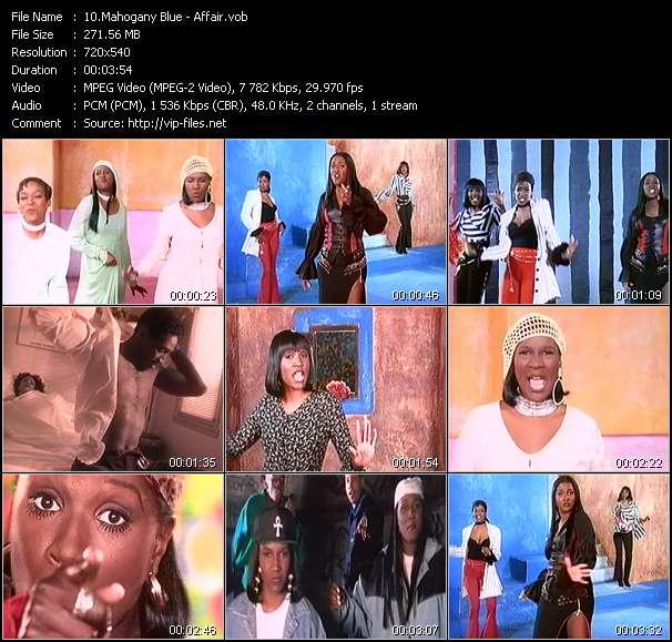 Mahogany Blue video screenshot