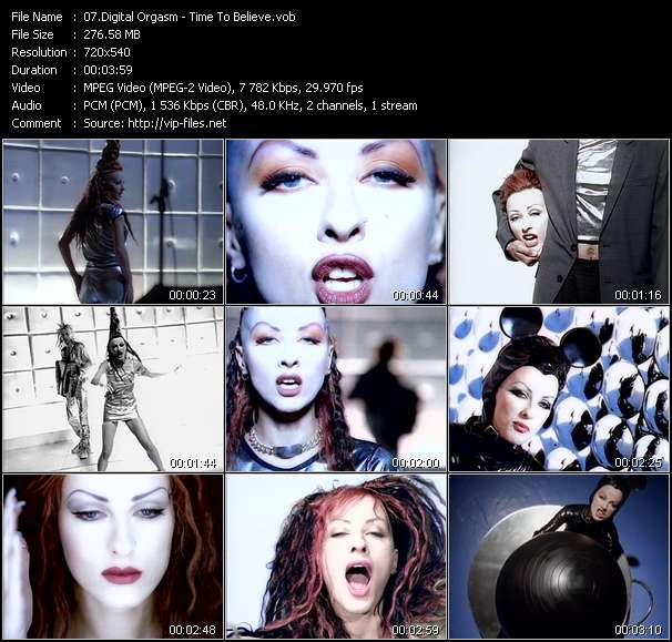 Digital Orgasm video screenshot