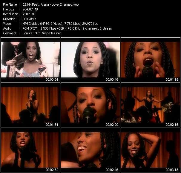 Mk Feat. Alana video screenshot