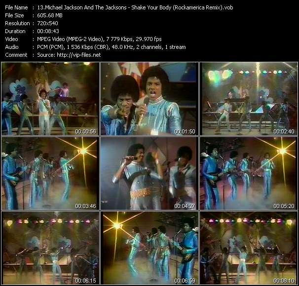 Michael Jackson And The Jacksons (Jackson 5) video screenshot