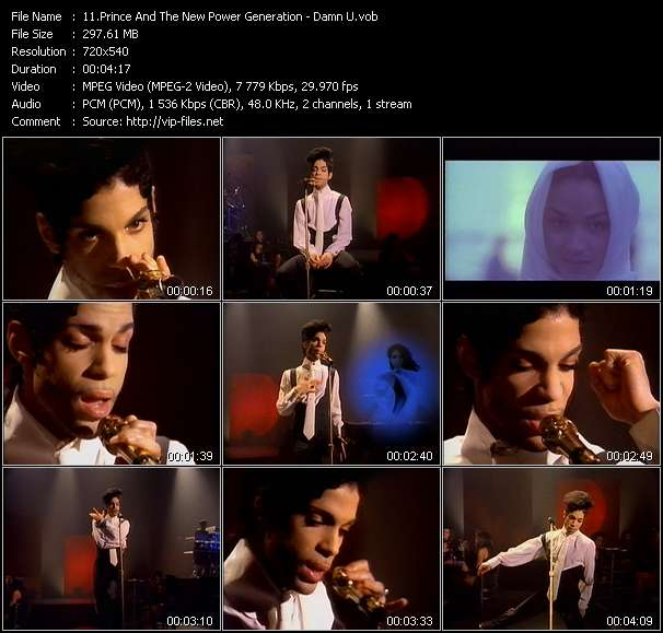 Prince And The New Power Generation video screenshot