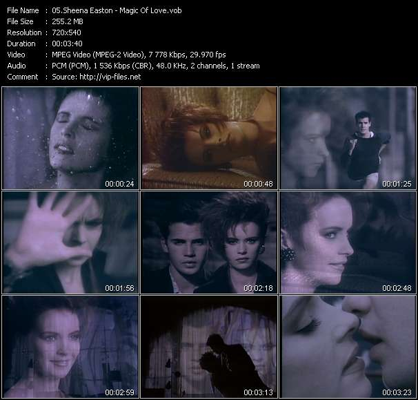 video Magic Of Love screen