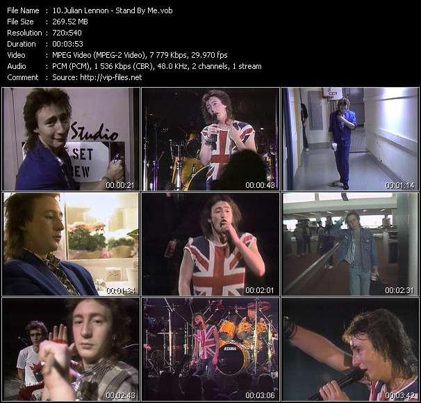 Julian Lennon video screenshot