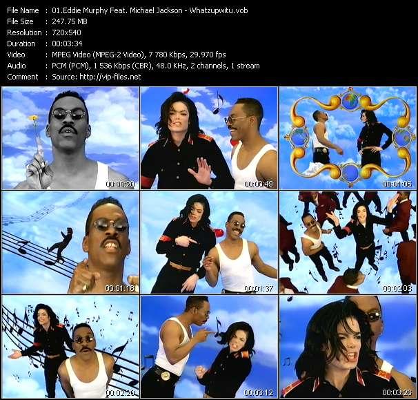 Eddie Murphy Feat. Michael Jackson video screenshot