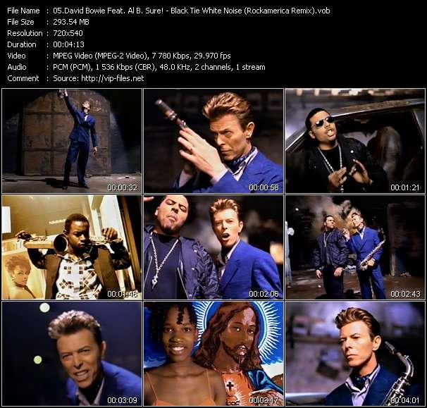 David Bowie Feat. Al B. Sure! video screenshot