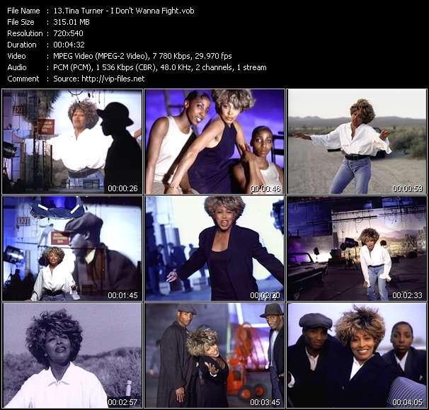 Tina Turner video screenshot