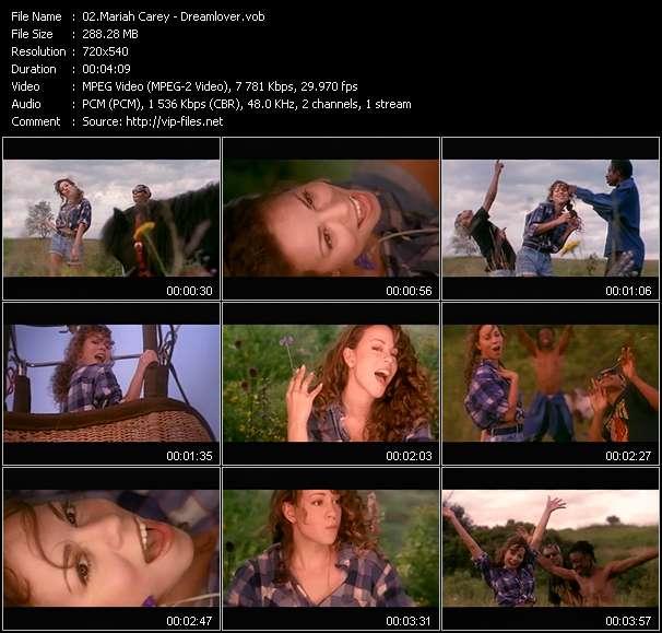 Mariah Carey video screenshot