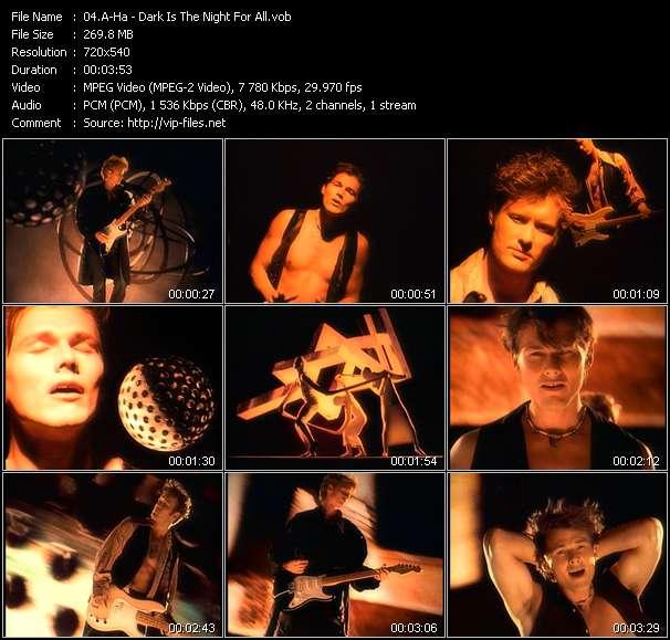 A-ha video screenshot
