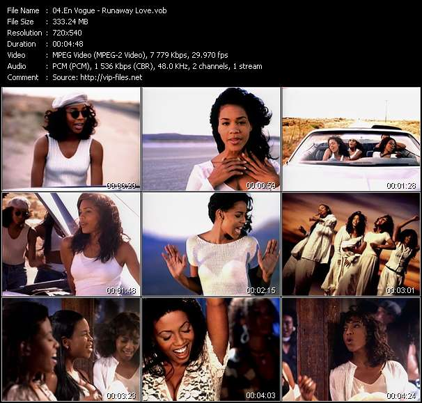 video Runaway Love screen