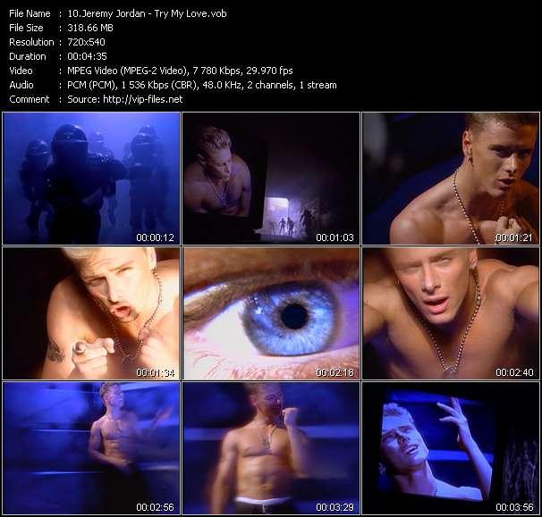 Jeremy Jordan video screenshot