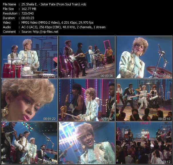 Sheila E. video screenshot