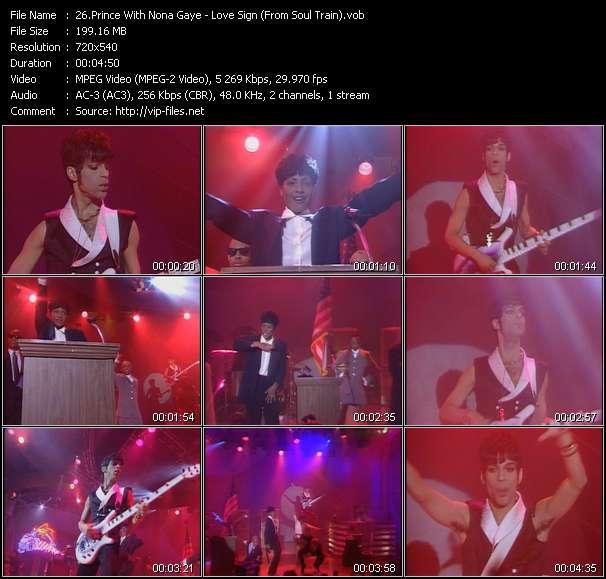 Prince With Nona Gaye video screenshot