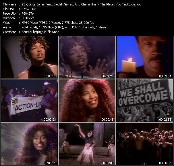 Quincy Jones Feat. Siedah Garrett And Chaka Khan video screenshot