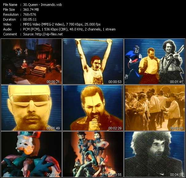 Queen video screenshot