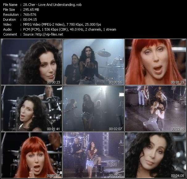 Cher video screenshot