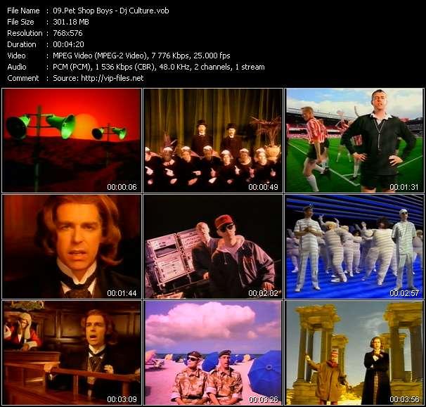 Pet Shop Boys video screenshot