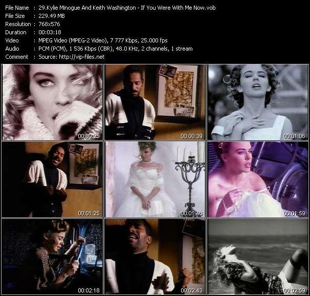 Kylie Minogue And Keith Washington video screenshot