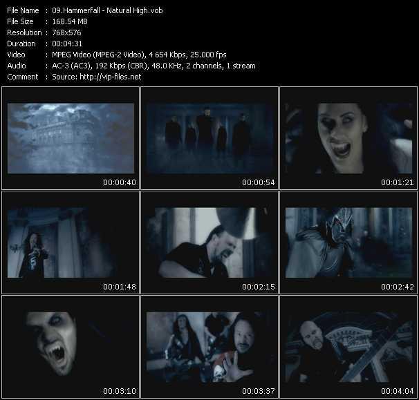 Hammerfall video screenshot