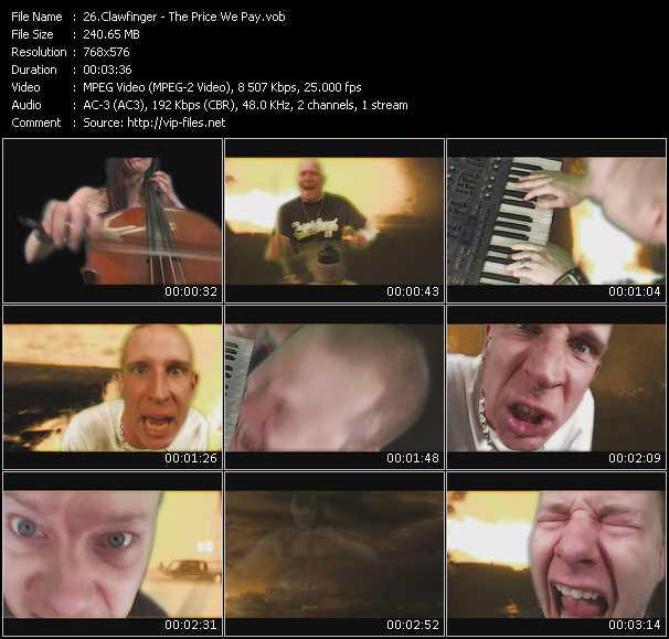 Clawfinger video screenshot