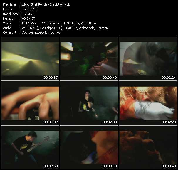 All Shall Perish video screenshot