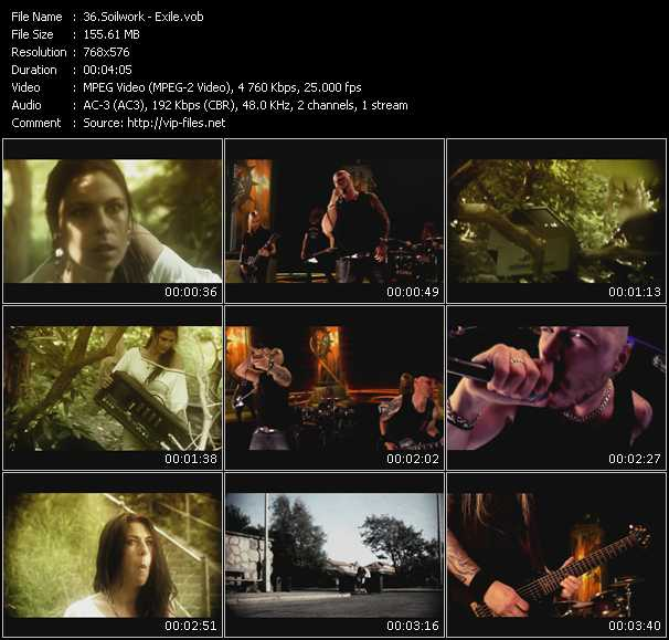 Soilwork video screenshot