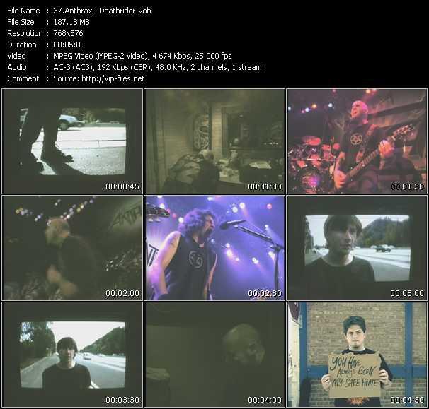 Anthrax video screenshot