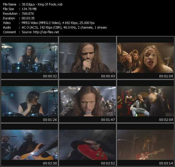 Edguy video screenshot