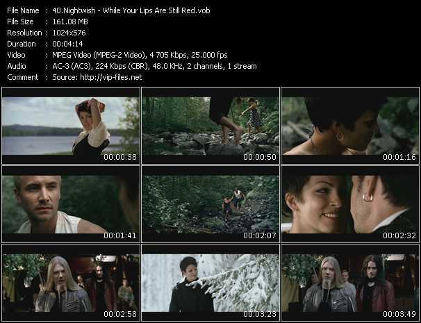 Nightwish video screenshot