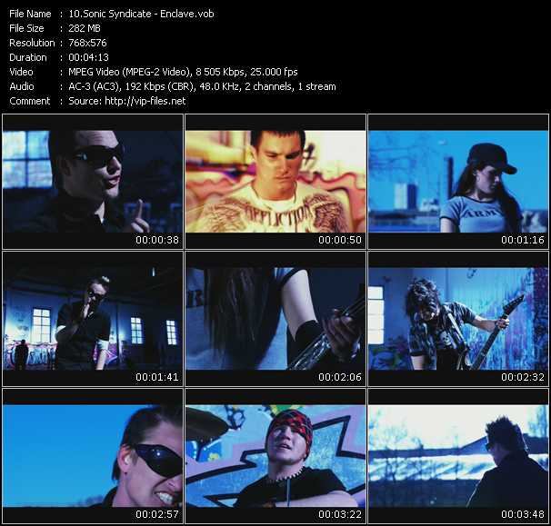 Sonic Syndicate video screenshot