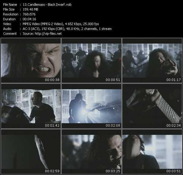 Candlemass video screenshot