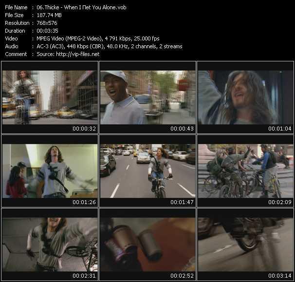Thicke video screenshot