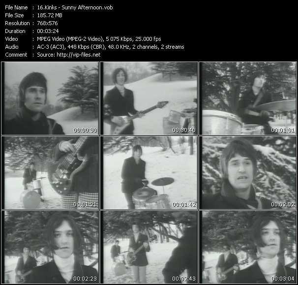 Kinks video screenshot
