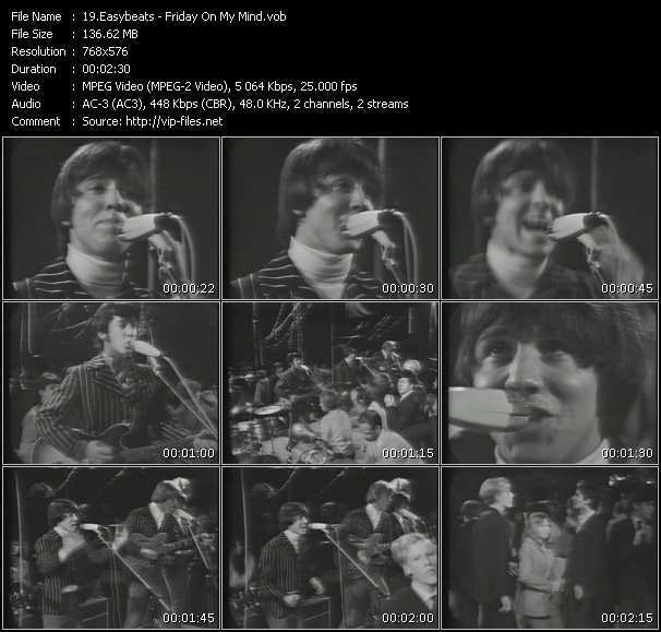Easybeats video screenshot