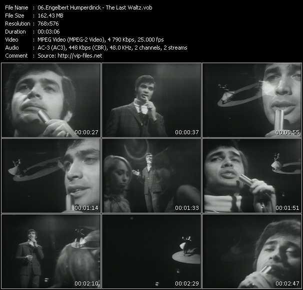 Engelbert Humperdinck video screenshot